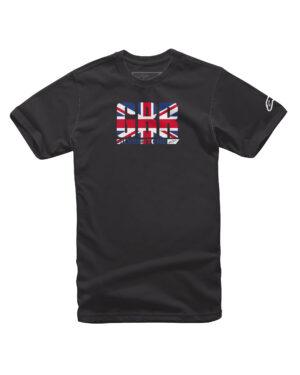 Alpinestars Circuits Tee - Black / Great Britain - 1211-72012-1095