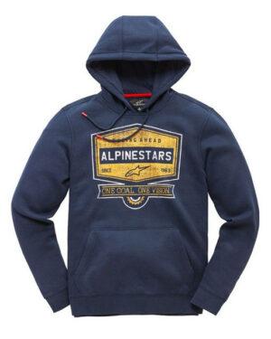 Alpinestars Diner Fleece Hoody - Navy - 1019-51017-70