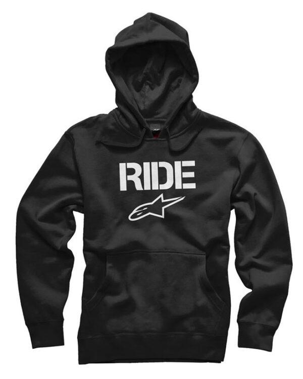Alpinestars Ride Pullover Hoody - Black - 1036-52002 1020