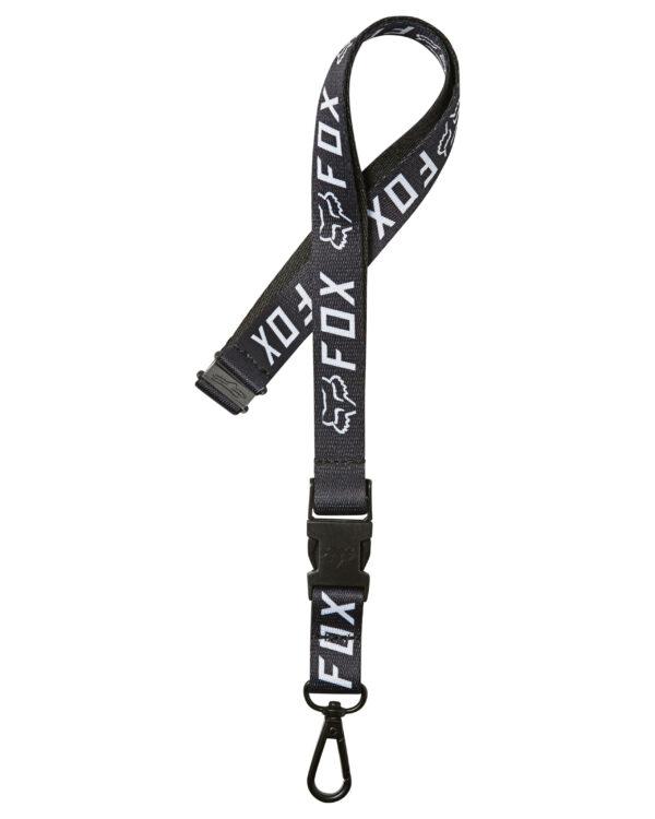 Fox Apex Lanyard - Black / White - 26034-018