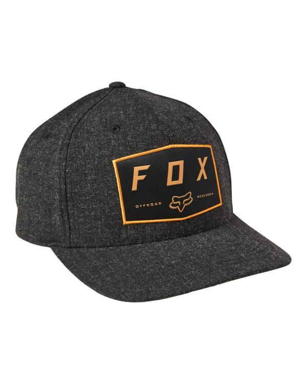 Fox Badge Cap - Black - 28505-001