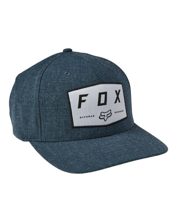 Fox Badge Cap - Dark Indigo - 28505-203