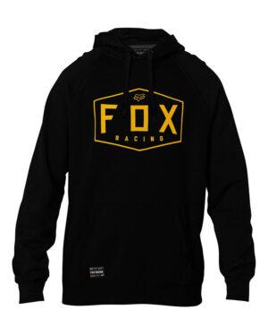 Fox Crest Pullover Fleece Hoody - Black - 25953-001