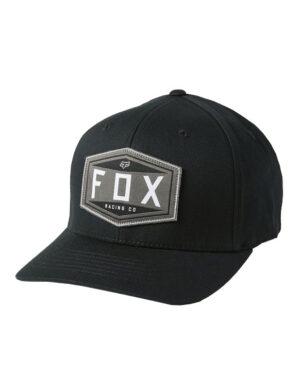 Fox Emblem Flexfit Cap - Black - 27096-001