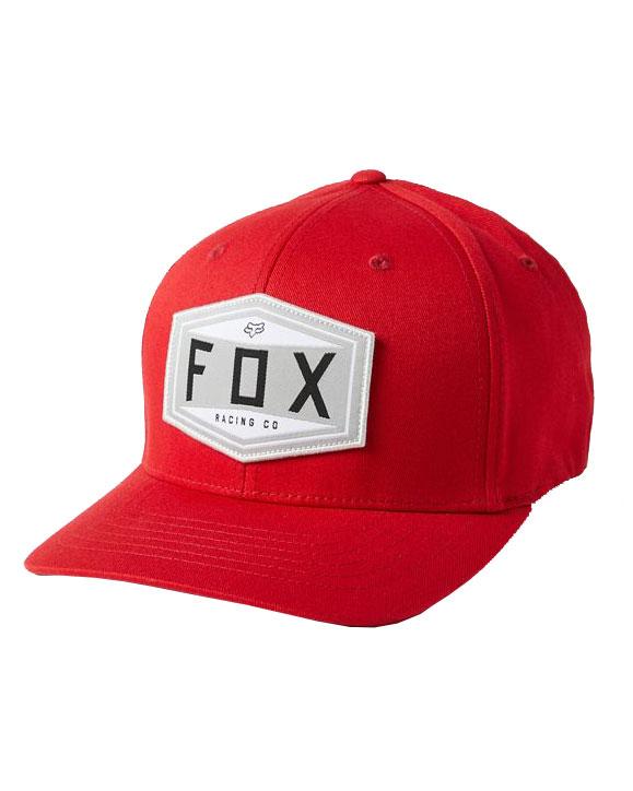 Fox Emblem Flexfit Cap - Chili - 27096-555