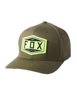 Fox Emblem Flexfit Cap - Olive Green - 27096-099