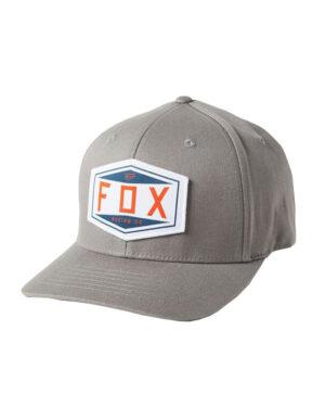 Fox Emblem Flexfit Cap - Pewter - 27096-052