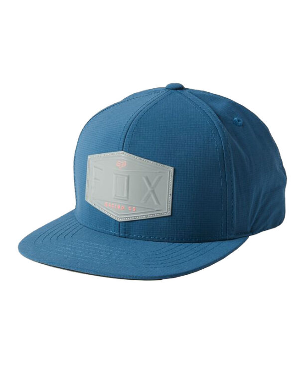 Fox Emblem Snapback Cap - Dark Indigo - 27085-203