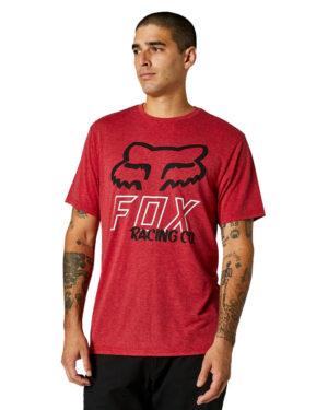 Fox Hightail Tech Tee - Chili - 26973-555