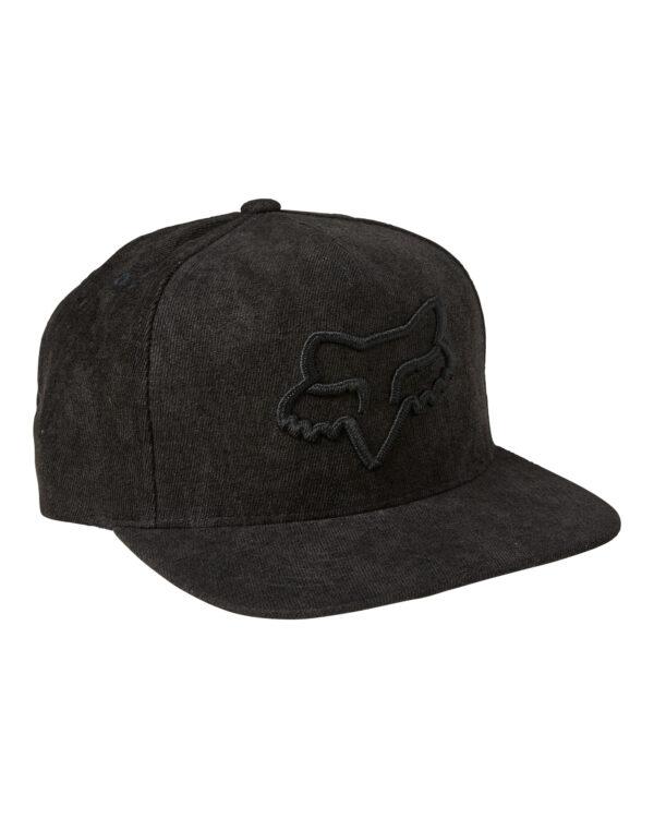 Fox Instill Snapback 2.0 Cap - Black / Black - 27087-021