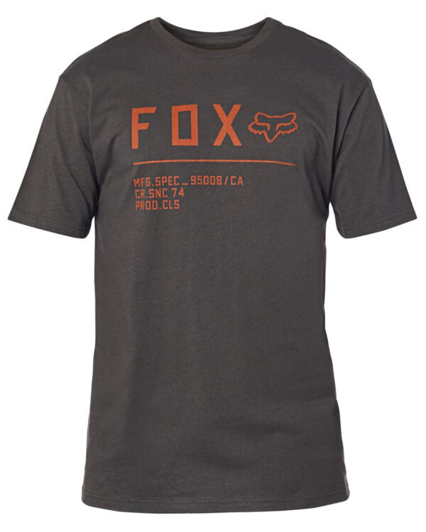Fox Non Stop Premium Tee - Black / Orange - 23709-016