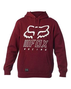 Fox Overhaul Pullover Hoody - Cranberry - 25959-527