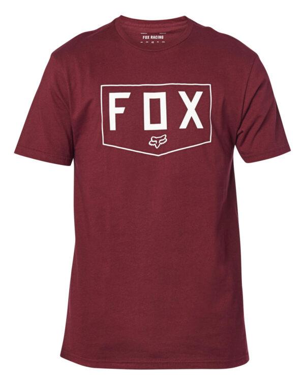 Fox Shield Premium Tee - Cranberry - 24429-527