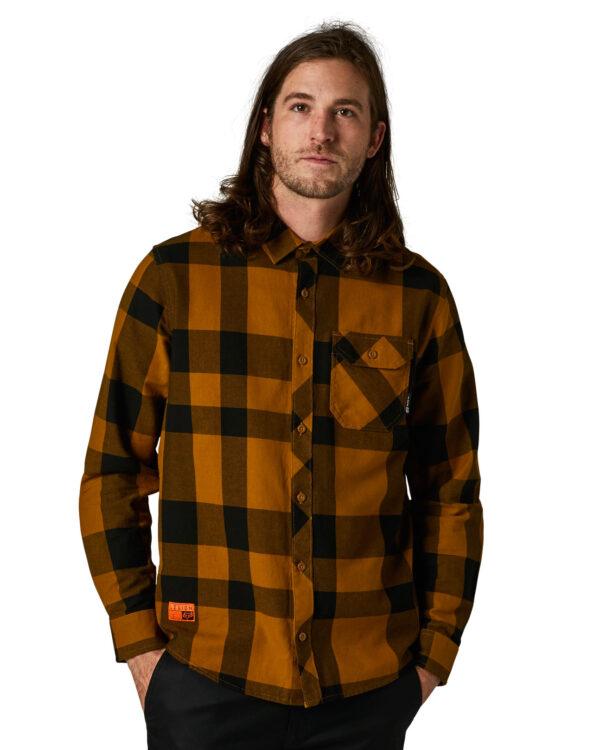 Fox Voyd 2.0 Flannel Shirt - Gold - 28627-200