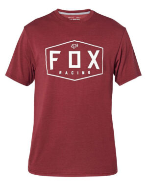 Foxracing - Crest Tech Tee - Cranberry - 25993-527