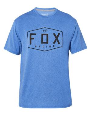Foxracing - Crest Tech Tee - Heather Royal - 25993-598