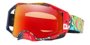 Oakley Airbrake MX - Jeffrey Herlings - Graffito Red / White / Black - Prizm MX Torch - OO7046-84 - 888392435958