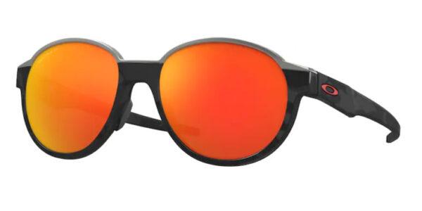 Oakley Coinflip - Matte Black Camo - Prizm Ruby Polarized - OO4144-0453 - 888392507204