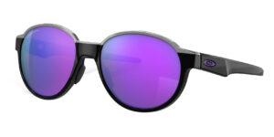 Oakley Coinflip - Polished Black - Prizm Violet - OO4144-0653 - 888392507228