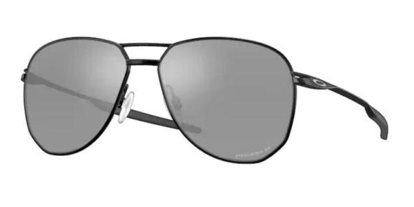 Oakley Contrail - Satin Black - Prizm Black Polarized - OO4147-0457 - 888392561947