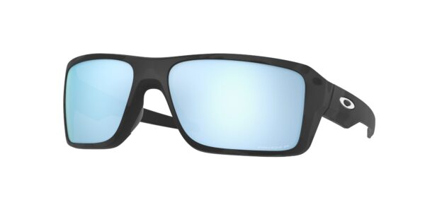 Oakley Double Edge - Matte Black Camo - Prizm Deep Water Polarized - OO9380-2766 - 888392555212