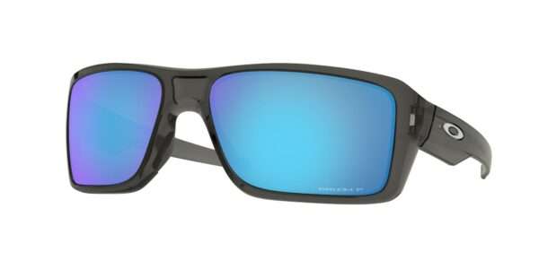Oakley Double Edge - Grey Smoke - Prizm Sapphire Polarized - OO9380-0666 - 888392276490