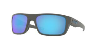 Oakley Drop Point - Matte Dark Grey - Prizm Sapphire Polarized - OO9367-0660 - 888392276414