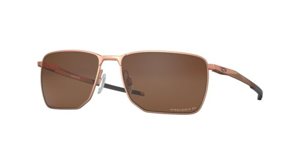 Oakley Ejector - Satin Rose Gold - Prizm Tungsten Polarized - OO4142-0558 - 888392489197