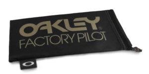 Oakley Factory Pilot Black / Gold Microbag - 102-236-001 - 888392155047