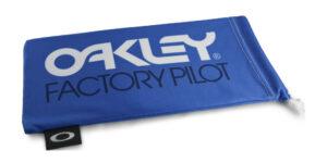 Oakley Factory Pilot Blue / White Microbag - 102-149-001 - 888392230676