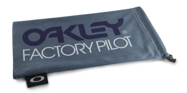 Oakley Factory Pilot Grey / Black Microbag - 102-147-001 - 888392230652
