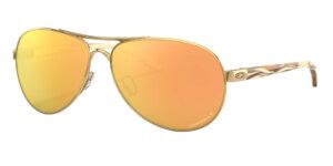 Oakley Feedback - Polished Gold - Prizm Rose Gold Polarized - OO4079-3759 - 888392425638
