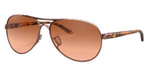Oakley Feedback - Rose Gold - VR50 Brown Gradient - OO4079-01 - 700285863214