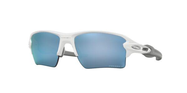 Oakley Flak 2.0 XL - Polished White - Prizm Deep Water Polarized - OO9188-8259 - 888392326492