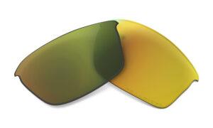 Oakley Flak Jacket - Replacement Lens - Fire Iridium Polarized - 13-727 - 700285137278