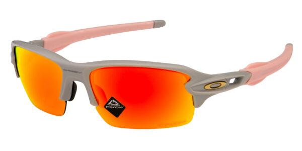 Oakley Flak XS - Cool Matte Grey - Prizm Ruby - OJ9005-0959 - 888392410696