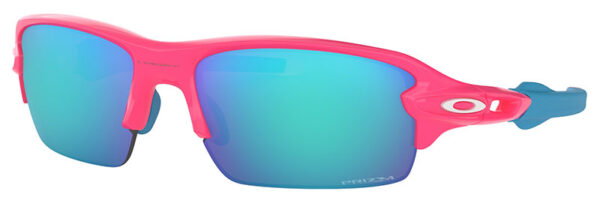 Oakley Flak XS - Neon Pink - Prizm Sapphire - OJ9005-0359 - 888392364746