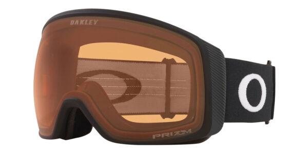 Oakley Flight Tracke XL - Matte Black - Prizm Snow Persimmon - OO7104-04 - 888392459237