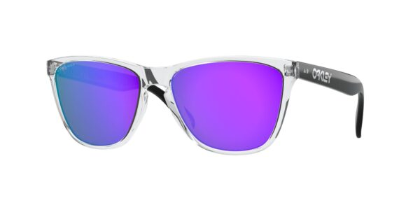Oakley Frogskins - 35th Anniversary - Polished Clear - Prizm Violet - OO9444-0557 - 888392464934