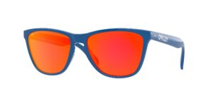 Oakley Frogskins - 35th Anniversary - Primary Blue - Prizm Ruby - OO9444-0457 - 888392464927