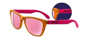 Oakley Frogskins - Blacklight - Orange / Pink - Pink Iridium - 24-284 - 700285535777