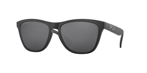 Oakley Frogskins - Matte Black - Prizm Black Polarized - OO9013-F755 - 888392406996