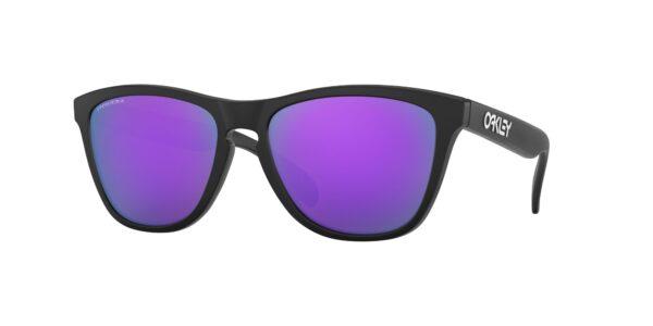 Oakley Frogskins - Matte Black - Prizm Violet - OO9013-H655 - 888392454690