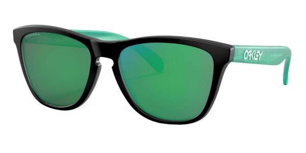 Oakley Frogskins - Origins - Matte Black - Prizm Jade - OO9013-I455 - 888392473547