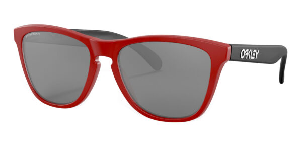 Oakley Frogskins - Origins - Matte Red - Prizm Black - OO9013-I255 - 888392473523