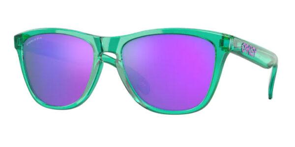 Oakley Frogskins - Translucent Celeste - Prizm Violet - OO9013-J855 - 888392568335