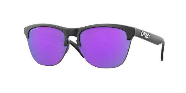 Oakley Frogskins Lite - Matte Black - Prizm Violet - OO9374-3163 - 888392454713