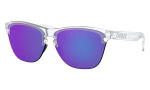 Oakley Frogskins Lite - Matte Clear - Violet Iridium - OO9374-0363 - 888392326850