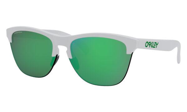 Oakley Frogskins Lite - Matte White - Prizm Jade - OO9374-1563 - 888392394552
