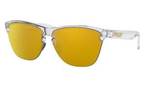 Oakley Frogskins Lite - Polished Clear - 24K Iridium - OO9374-1363 - 888392390400